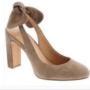 BRAND NEW Madison block bow heels